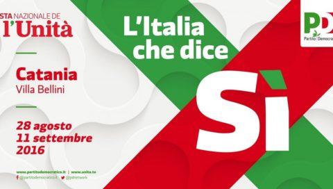 """""""La Sicilia col segno più. Quali misure per lo sviluppo e la crescita"""". Pietro Piro ospite  al dibattito alla Festa Nazionale de L'Unità"""